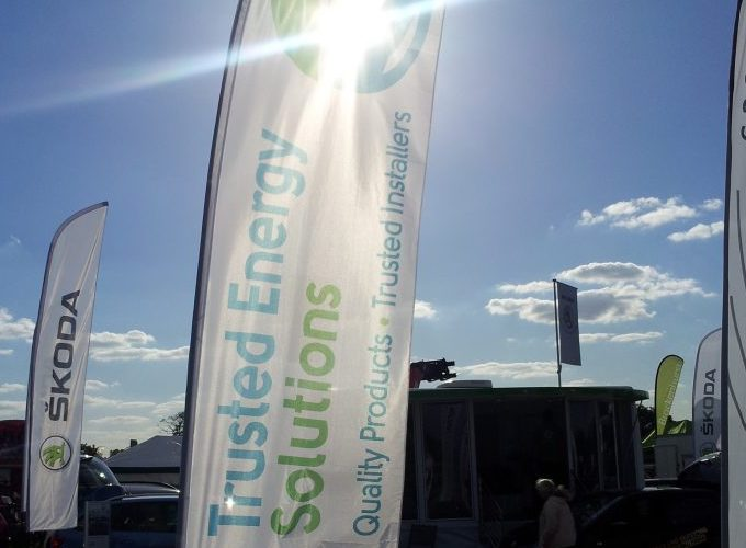 Trusted Energy Trade Show banner