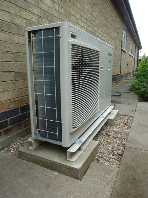Air source heating